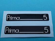 Hercules Prima 5 Trittbrett Aufkleber Dekor Schriftzug Verkleidung Sticker