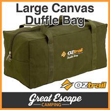 Oztrail Canvas Duffle Bag Large