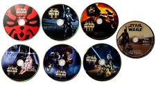 STAR WARS : THE COMPLETE SAGA DVD 1-7 PREQUEL & ORIGINAL TRILOGY & FORCE AWAKENS