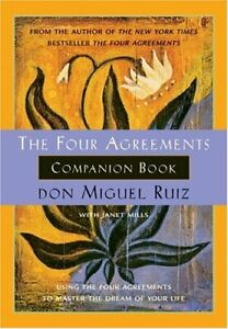 The Four Agreements Companion Book: Using the Four ... by Mills, Janet Paperback