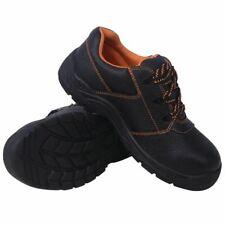 vidaXL Veiligheidschoenen Zwart Maat 41 Leer Werkschoen Veiligheidschoeisel