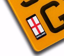 England St Georges Cross Number Plate Vinyl Sticker For Motorcycle decal badge