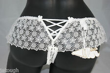 Mimi Holliday ~ PELICAN ~ corset back knickers BNWT white XLarge UK 16