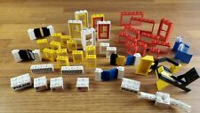 LEGO LOT OF VINTAGE windows doors shudders & more late 70s early 80s mix