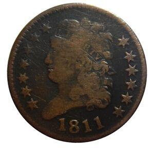 Half cent/penny 1811 key date
