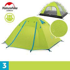 Naturehike 캠핑텐트 2-3-4인용/ P3-3인-Green / 방우방수 / 아웃도어 / 야외 캠핑