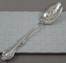 International JOAN OF ARC Solid Sterling Silver Large Serving Spoon 8.25/""