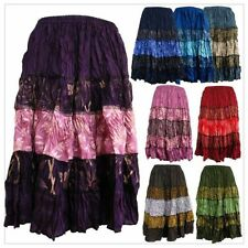 Handmade Peasant, Boho Knee-Length Skirts for Women