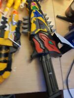 POWER RANGERS DINO CHARGE MORPHER  BLASTER T-REX 2 CHARGERS LOT - US BANDAI
