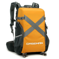 Caseman AOB3 DSLR SLR Camera Backpack Waterproof for Laptop Canon Nikon Orange