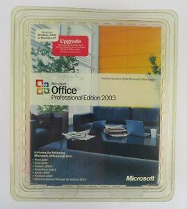 Microsoft Office Professional Edition 2003 Upgrade
