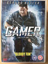 GERARD BUTLER ALISON LOHMAN GAMER ~ 2008 futurista Acción Película RU DVD