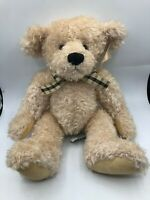 Russ Berry Elizabeth Beige White Teddy Bear Plush Kids Soft Stuffed Toy Animal