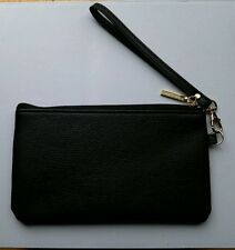 Clutch Marciano by GUESS BAG Women's Black faux leather wristlet New with tag