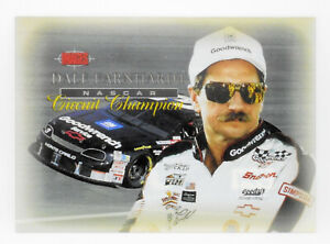 Dale Earnhardt Sr 1995 Images Circuit Champions Clear Acetate Insert Card #/675