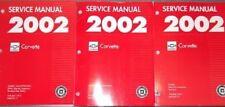 2002 Chevrolet Corvette Factory Service Repair Workshop Shop Manual-NEW GMP02Y