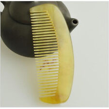 10cm Natural Ox Horn Massage Health Care Hair and Beard Comb Beard Hair Brush