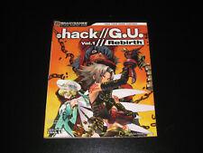 Hack / G.U. Vol 1 Rebirth Official Strategy Guide