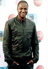 Taio CRUZ SIGNED 12x8 Autograph Photo AFTAL COA British Rapper Music Singer