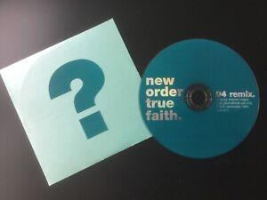 New Order, Joy Division, Peter Hook, True Faith, Rare Radio Promotion,