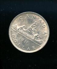 1937 Canada Silver Dollar MS62 AB10