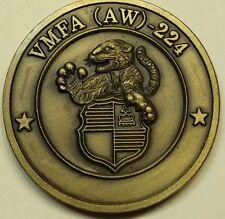 Marine Fighter Attack Sq 224 VMFA-224 Challenge Coin