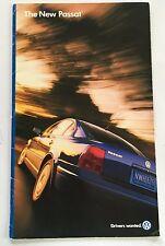 1998 VW Volkswagen Passat 18page Original Car Sales Brochure Catalog