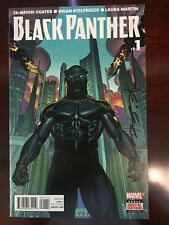 BLACK PANTHER (2016) #1-6 Run Lot Coates Signed By Stelfreeze