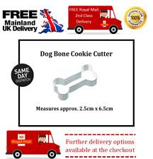 Small dog bone fondant cutter for cake decorating sugar crafts