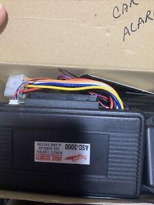 ANGUS Keyless Alarm Remote Starter Control Car Burglar System