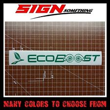 Ecoboost Decal / Sticker eco boost ford turbo eco-boost