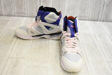 PUMA Men's MCQ Tech High-Top Basketball Shoe - Star White-Glacier Gray - Size 12