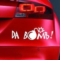DA BOMB Sticker Funny Car JDM 4x4 VAG DUB VAN Window Bumper Novelty Vinyl Decal
