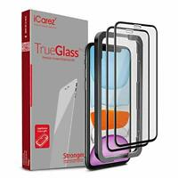 iCarez [Full Coverage Tempered Glass + Tray Installation] Screen Protector for