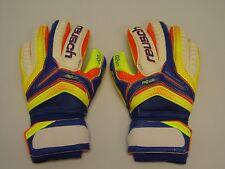 Reusch Soccer Goalie Gloves Serathor Pro G2 Finger Stays SZ 9 3770950S SAMPLES