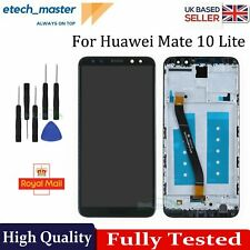 For Huawei Mate 10 Lite LCD Black Touch Screen + Digitizer + Frame Assembly UK