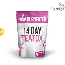 BURNFATEA - 14 DAY MORNING TEATOX (Herbal Slimming Tea, Skinny Tea, Detox Tea)