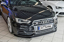 Spoilerschwert Frontspoilerlippe Cuplippe ABS Audi A3 S3 8V S-Line mit ABE