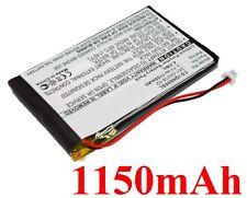 Batterie 1150mAh type 361-00019-02 D25292-0000 Pour Garmin Nuvi 600