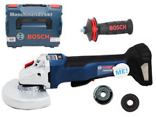 Bosch Professional Akku Winkelschleifer GWS 18V-10 PSC + L-BOXX  Paddelschalter