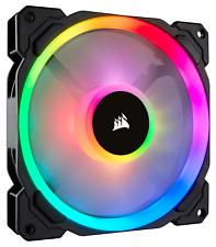 Corsair ll140 DUAL LUZ Loop Pwm Ventilador (140mm) RGB LED