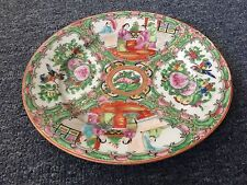 Old chinese ceramic plate