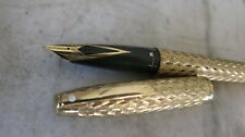 RARE STYLO PLUME SHEAFFER IMPERIAL PL.OR - FINITION LOSANGES - PLUME PL. OR 23K