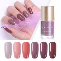 NICOLE DIARY Nail Polish Quick Dry  Series Nail Art Varnish 6 Colors 9ml