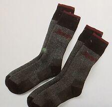 "JEEP TERRAIN Men's 2-PK Boot Wool-Mix Socks""BLACK""Long Length Size 7-12 New Tags"