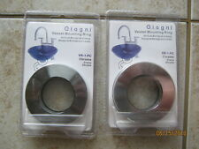New Lot of 2 Giagni Decorative Vessel Bowl Sink Mounting Ring Pol Chrome Vr-1-Pc
