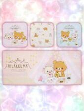 San-x Rilakkuma Korilakkuma Pajama Party Towel Set