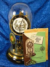 SCHATZ 400 DAY GERMAN  ANNIVERSARY CLOCK  VINTAGE MAKES A BEAUTIFUL GIFT