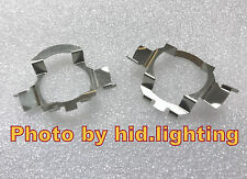 2pcs H7 LED Car Bulb Holder Adapters For Benz E-class ML Audi BMW VW JETTA MK6
