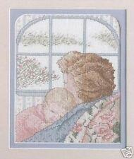Baby's Home (New Mum & Baby) Cross Stitch Chart Pattern - True Colors